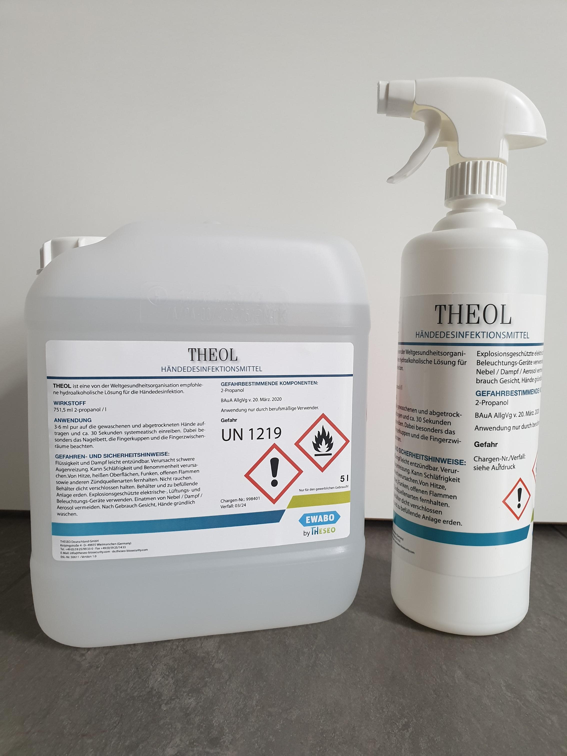 Theol Händedesinfektionsmittel